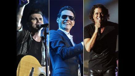 Latin Grammy 2014: ellos cantarán en la ceremonia