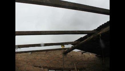 Vientos huracanados en Tarma y Concepción afectaron techos