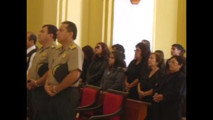 Trujillo: ofrecen misa por policías que murieron en accidente