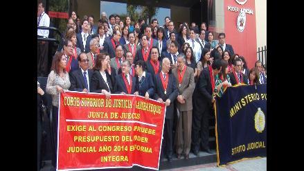 Lambayeque: el 15 de noviembre se realizará evaluación a jueces y fiscales