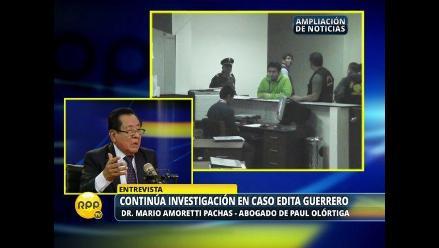 Hermano de Edita Guerrero aceptó el aneurisma, según abogado