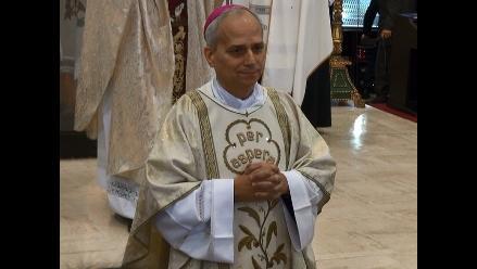 En emotiva ceremonia asume funciones nuevo obispo de Chiclayo