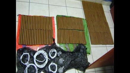 Incautan material explosivo utilizado para la pesca ilegal en Pisco