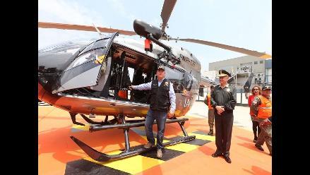 Urresti anuncia compra de 3 nuevos helicópteros y drones para la PNP