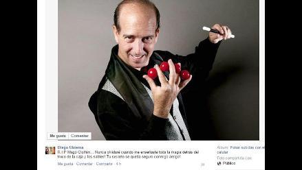 Mago Giorhini: famosos lamentan su partida en redes sociales