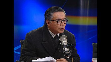 Nakazaki: Fujimori nunca tuvo un proceso por tráfico ilícito de drogas