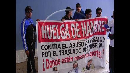 Marcona: a siete se elevan los asegurados en huelga de hambre