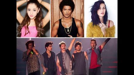 Conoce a los nominados de los MTV EMA 2014