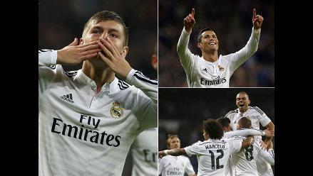 Revive en imágenes la victoria de Real Madrid sobre Rayo Vallecano