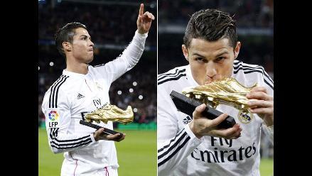 Cristiano Ronaldo ofreció la Bota de Oro a los hinchas de Real Madrid