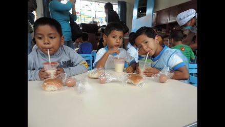 Chiclayo: niños tienen miedo de consumir alimentos de Qali Warma