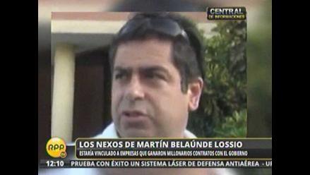 Testigos dicen que región Áncash financió a empresa de Martín Belaunde