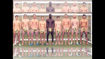 West Ham: Jugadores se desnudan contra el cáncer de próstata