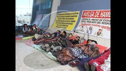 Ica: asegurados de Marcona cumplen tercer día de huelga de hambre
