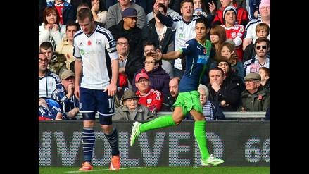 Ayoze Pérez hace gol hermoso en triunfo de Newcastle ante West Bromwich