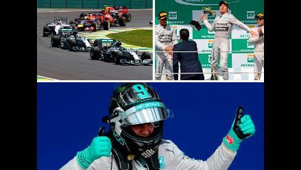 Fórmula Uno: Las postales del GP de Brasil y la lucha por el título en Abu Dhabi