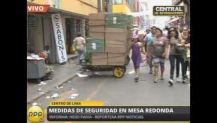 Centro de Lima: Preocupa presencia de ambulantes en Mercado Central