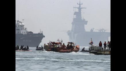 Corea del Sur pone fin a búsqueda de los 9 desaparecidos del ferri Sewol