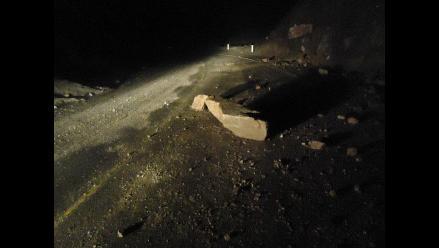 Amazonas: carretera Fernando Belaunde Terry interrumpida por derrumbes