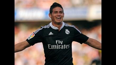 James Rodríguez: El titular inamovible de todos los partidos del Real Madrid