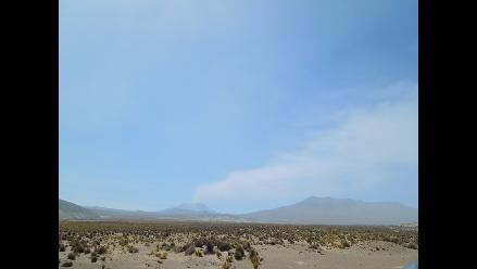 Arequipa: pobladores piden mascarillas por nueva explosión del Ubinas