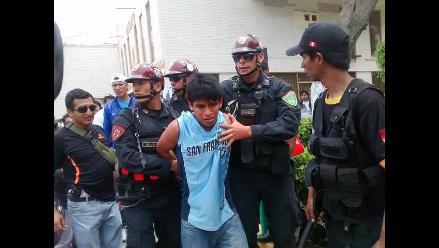 Chiclayo: delincuente intentó darse a la fuga pero fue atrapado