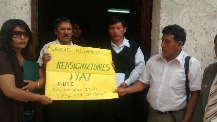 Arequipa: consejo regional desestimó proceso de reasignación docente