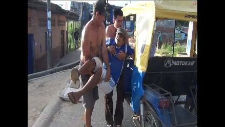Yurimaguas: ganadero queda herido por embestida de un toro