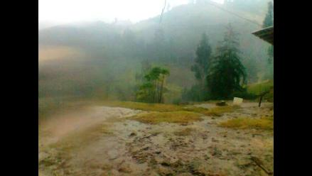Otuzco: alerta por torrenciales lluvias con truenos y relámpagos