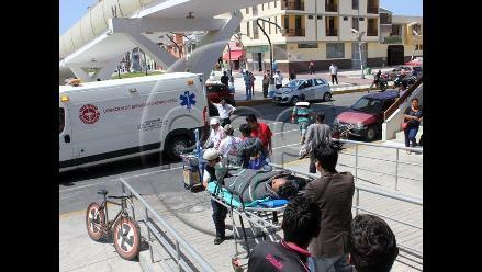 Marcona: tres huelguistas de hambre son trasladados a centro de salud