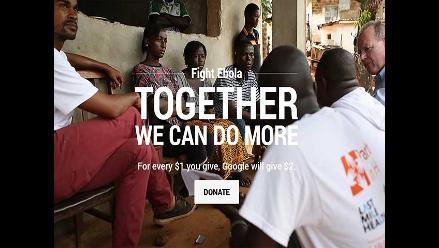 Google se suma a la lucha contra el ébola con donaciones