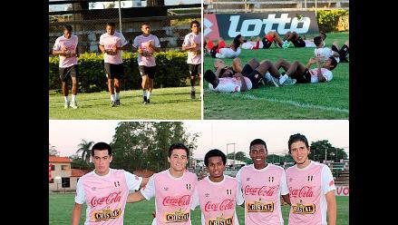 Selección Peruana: Así fue el primer entrenamiento de la bicolor en Paraguay