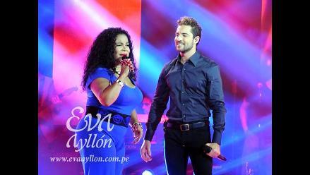 La Voz Perú: David Bisbal cantó con Eva Ayllón