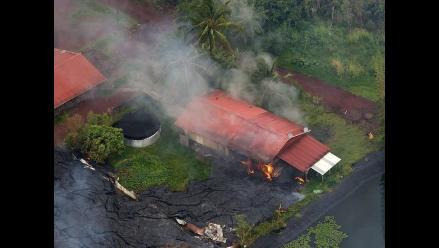 Obama declara catástrofe grave el avance de la lava en Hawái