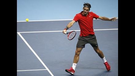 Roger Federer venció a Nishikori y está cerca de semifinales de Londres