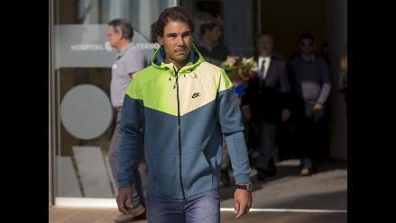 Rafael Nadal entrenará desde diciembre tras operación de apendicitis