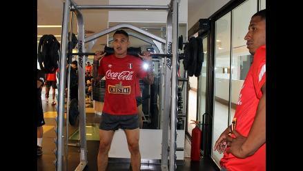 Selección Peruana: Entrenó con Guerrero, Ramírez y Benavente en Paraguay