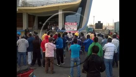 Ica: realizaron mitin en quinto día de huelga en Marcona