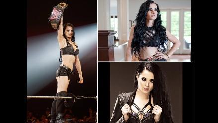 Paige, la diva inglesa que conquistó la WWE a sus 22 años