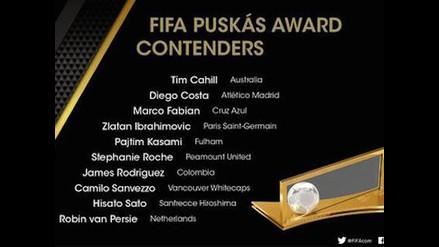 Conoce los 10 golazos nominados a los Premio Puskas 2014