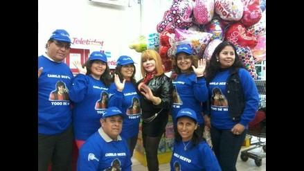 Tigresa del Oriente se une a Club de Fans de Camilo Sesto