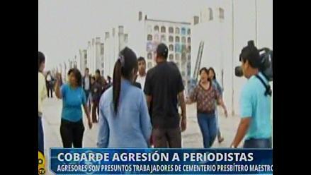Beneficencia de Lima anuncia investigación sobre agresión a periodistas