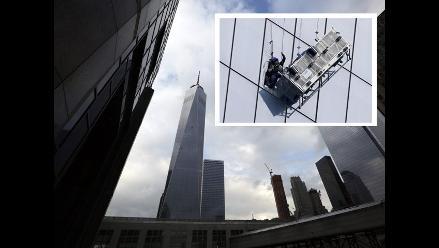 Trabajadores quedaron colgados en nueva torre del World Trade Center