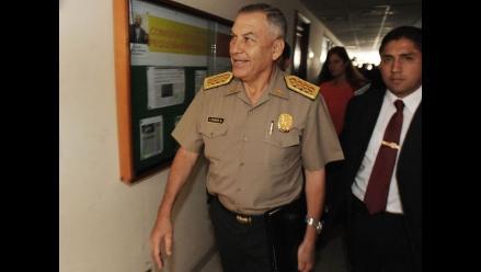 Director general de la PNP acude a Comisión López Meneses