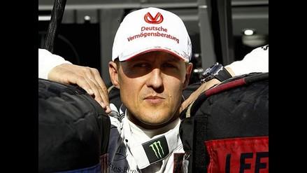 Familia de Schumacher mantiene optimismo respecto a su recuperación