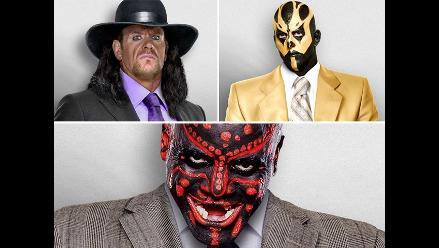 ¡No lo vas a creer! Estrellas de las WWE se visten con saco y corbata