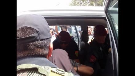 Chiclayo: secretaria de sindicato se desmaya en protesta por pagos