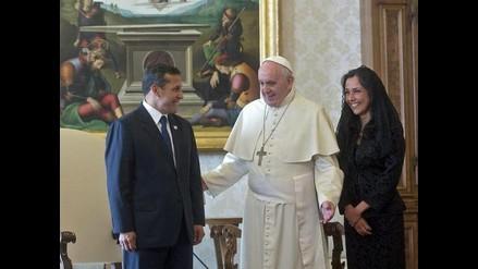 El papa Francisco recibió al presidente Ollanta Humala en el Vaticano