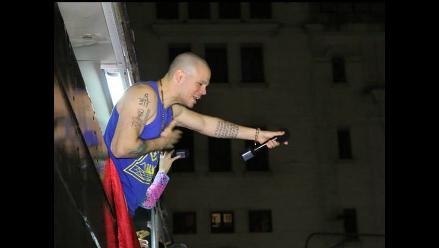 Así fue el concierto de Calle 13 en la Plaza San Martín