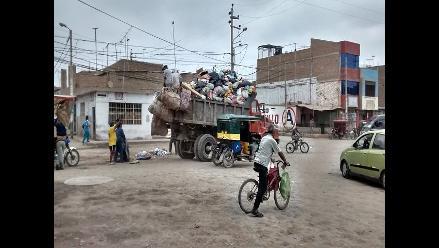Chiclayo: existe más de 7 toneladas de basura sin recoger